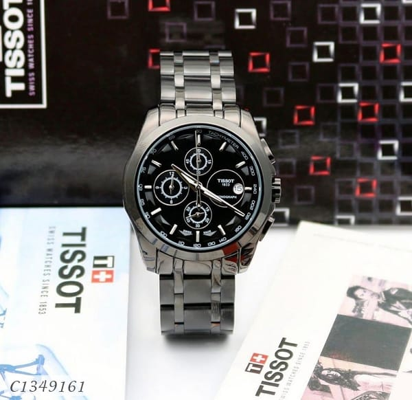 Black Tissot Classic Watch