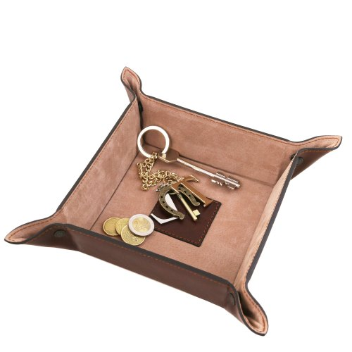 Naz Leather Export Leather Wallet Tray