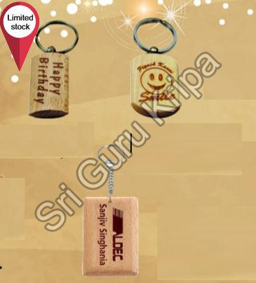 Wooden Keychain 1pc