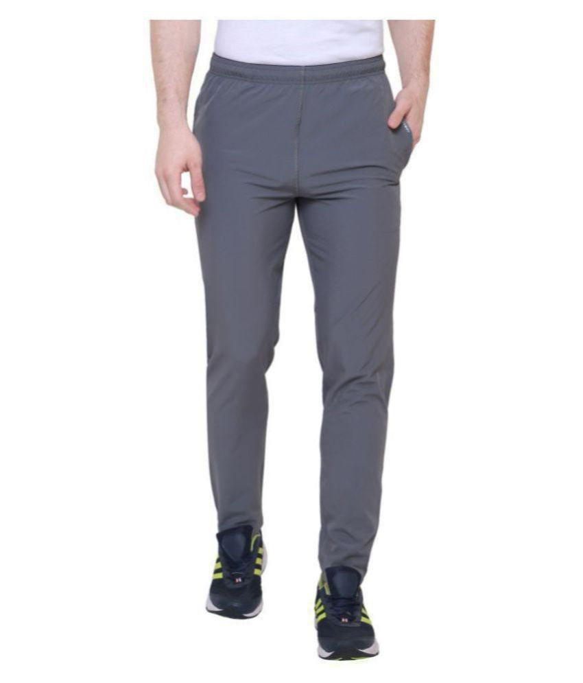 Nike Grey Side Design Dri-Fit Trackpants